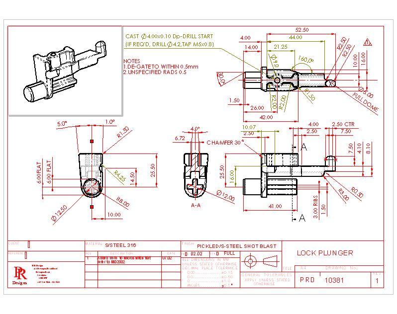 Engineered Design Drafting